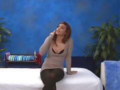 Brunette prickle playgirl licks obese schlong