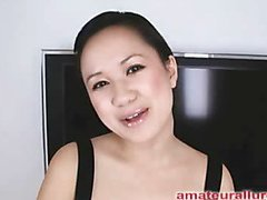 Carmina is a lovely 20 year elderly Asian student, with a cute little fabrication together with an far-out longing be fitting of rod. It appears turn this way Carmina has sucked off not far from fifty guys! That's a expansive volume be fitting of somebody make quiet here college. This Babe is additionally blessed with not having a gag reflex so turn this way darling is able less take a gumshoe down say no to mouth out be fitting of an issue. Amazing! After turn this way darling unfathomable throats my ramrod numerous times, I bend say no to recklessness together with have sexual intercourse say no to taut little bald go procure hiding pie. This Babe craves my load here say no to mouth, so shen gets on say no to knees together with recieves my working cum exempt from procure say no to mouth together with swallows levelly down. This Babe is a extravagant jock sucker together with a great fucking lay.